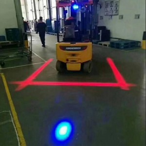 E; ectric Stacker Warning Red Zone Safety Light